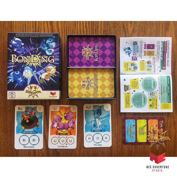 Chemcaper Chemistry BonDing Card Game