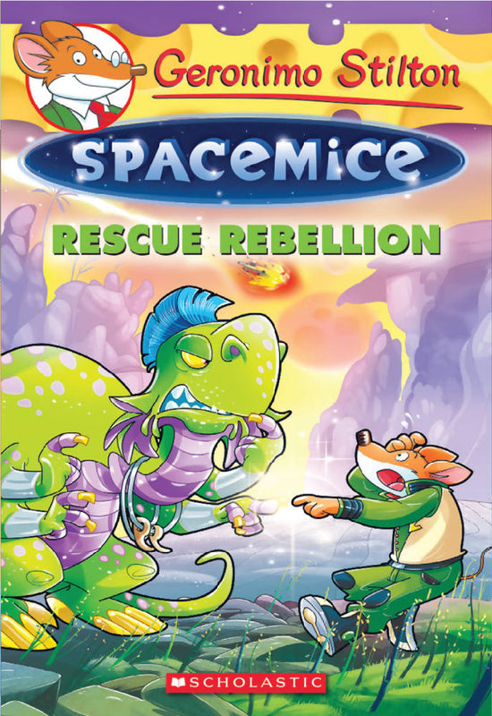 Geronimo Stilton: Spacemice #5: Rescue Rebellion
