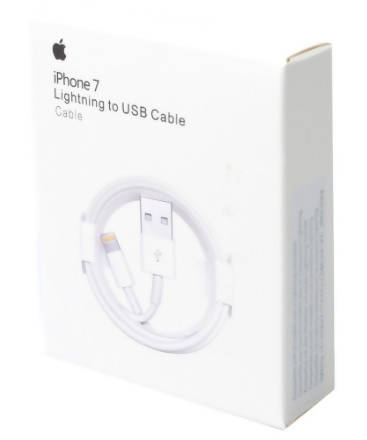 new concept ee27c 7224d Apple IPhone 7 Charger Lightning To USB Cable 3.3ft / 1M White READY STOCK