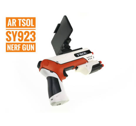 AR TSOL Nerf Gun Virtual Reality Bluetooth Android IOS AR Games Soft Bullet Toy