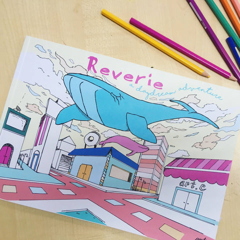 Reverie - Colouring Book by Art.c