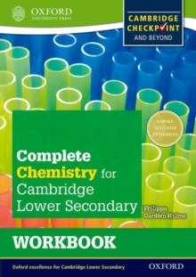 Complete Chemistry for Cambridge Secondary 1 Workbook