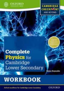 Complete Physics for Cambridge Secondary 1 Workbook