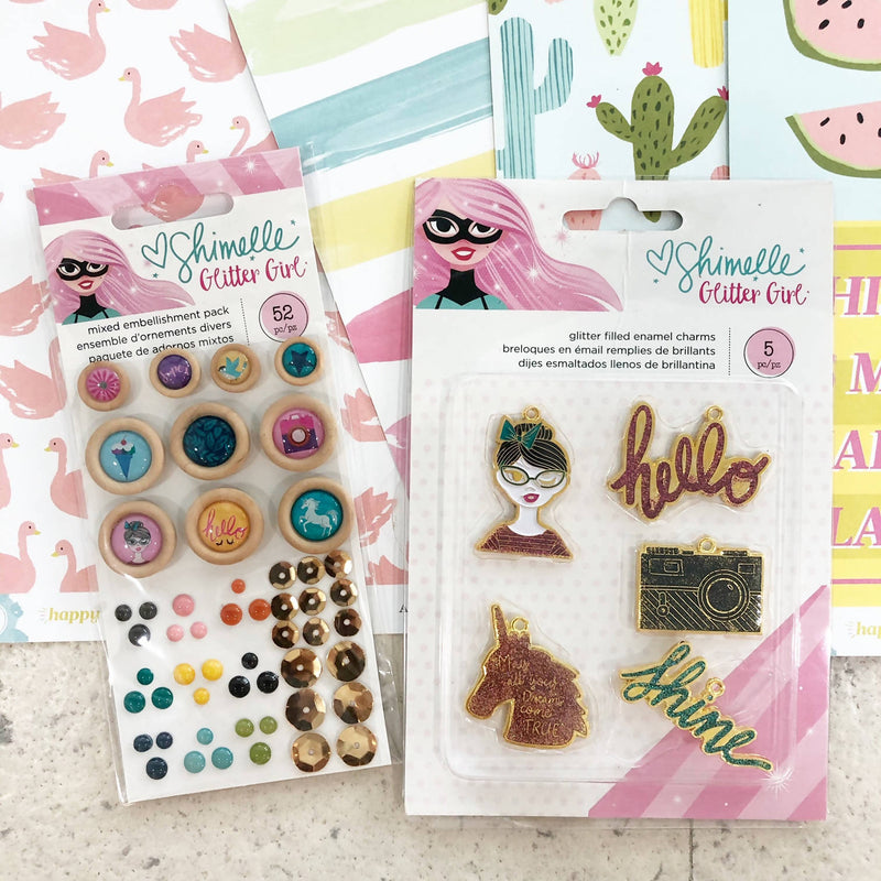 American Crafts Happy Place Kit