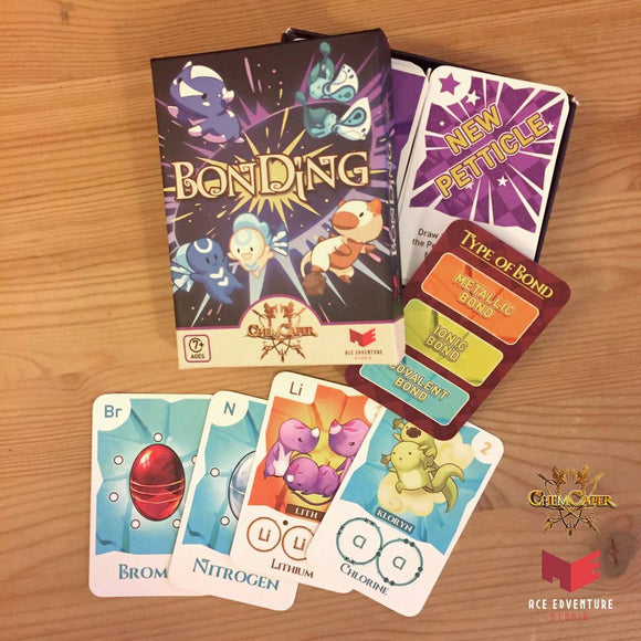 ChemCaper - BonDing Card Game