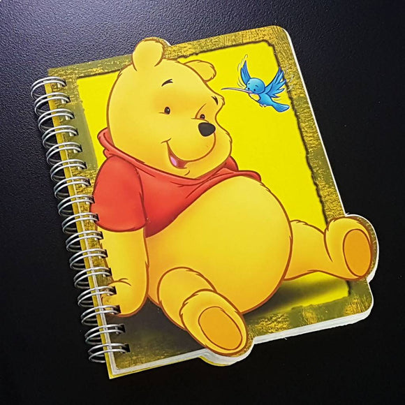Winnie The Pooh Yellow Notebook