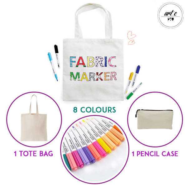 Art.C Design your own Tote & Pencil Case