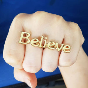 BELIEVE Double Ring