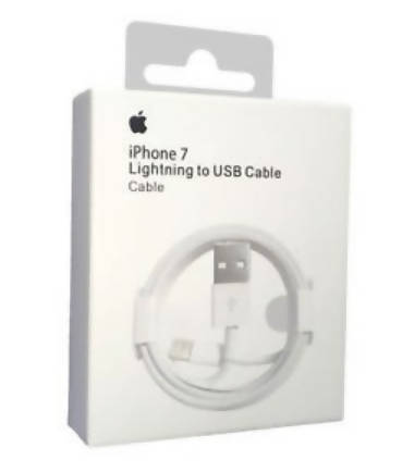 Apple IPhone 7 Charger Lightning To USB Cable 3.3ft / 1M White READY STOCK