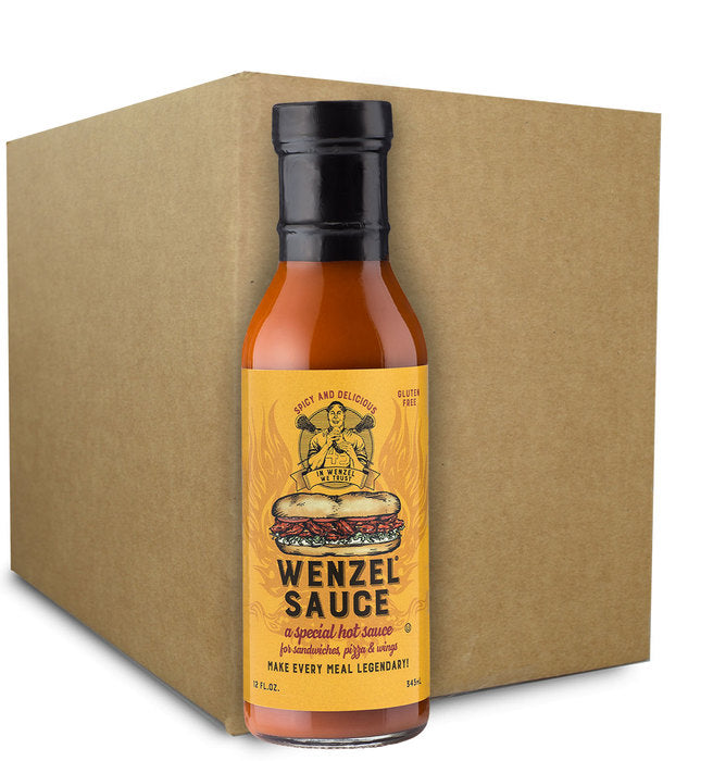 12 pack case Wenzel Sauce 12oz