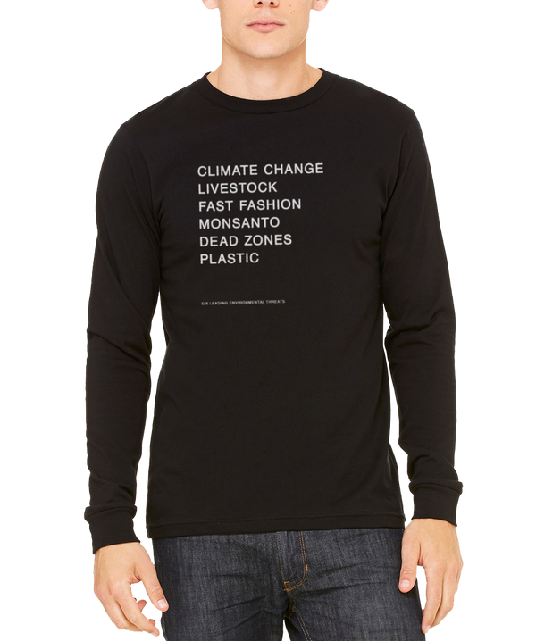 Mens Top 6 Organic Long Sleeve