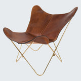 BUTTERFLY CHAIR - GOLD