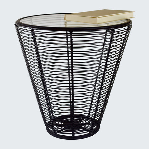 ALLEN SIDE TABLE - BLACK