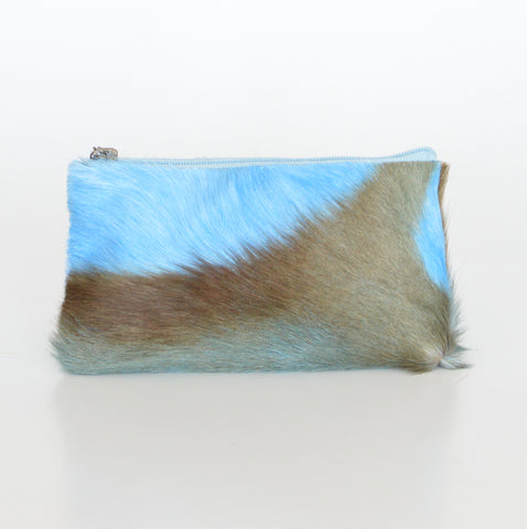 COSMETIC POUCH - BABY BLUE