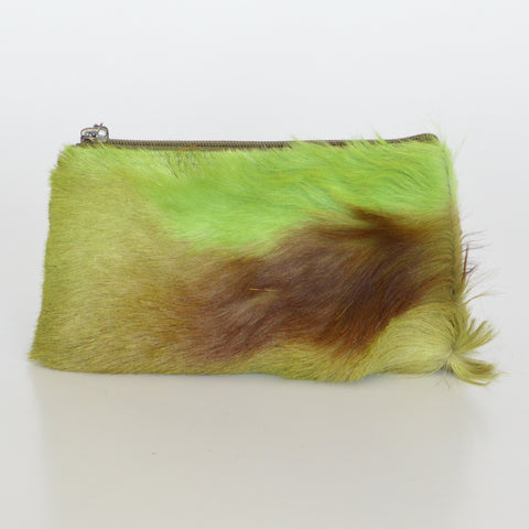 COSMETIC POUCH - GREEN