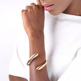 TWISTED DASH CUFF BRACELET