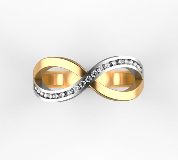 Engagement and Wedding Ring Set- 3280