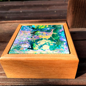 Alderwood Hinged Box for Keepsakes