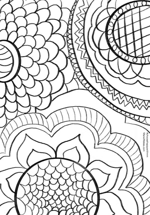 Bold and Beautiful doodle