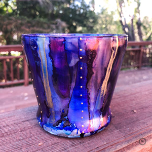 Decorative vase — Midnight Purple
