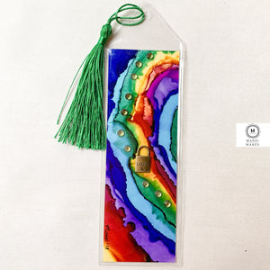 Mixed Media Bookmark 6