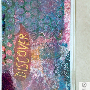 Original Art Mixed Media Bookmark 2