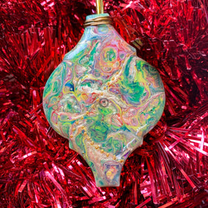 Ceramic Lantern Ornament 3