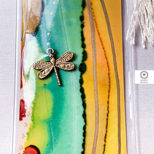 Mixed Media Bookmark 7