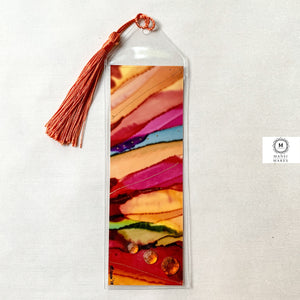 Mixed Media Bookmark 12