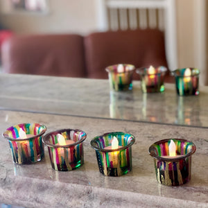 Handpainted votives