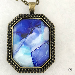 Waves of Calm Pendant 7