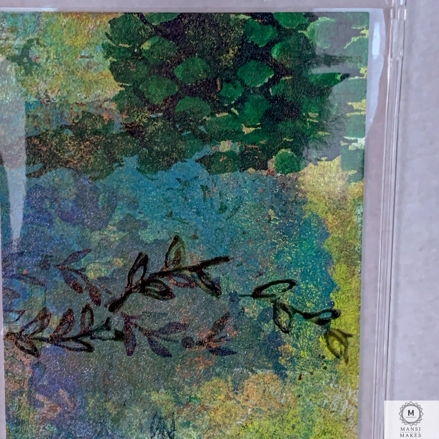 Original Art Mixed Media Bookmark 5