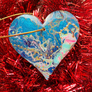 Heart Ornament 6