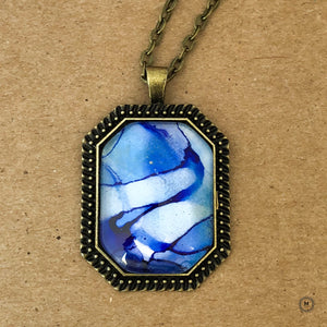 Waves of Calm Pendant 8