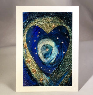 Heart Series Greeting Card - Dynasty