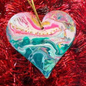 Heart Ornament 12