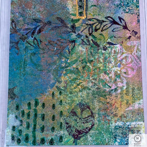 Original Art Mixed Media Bookmark 4