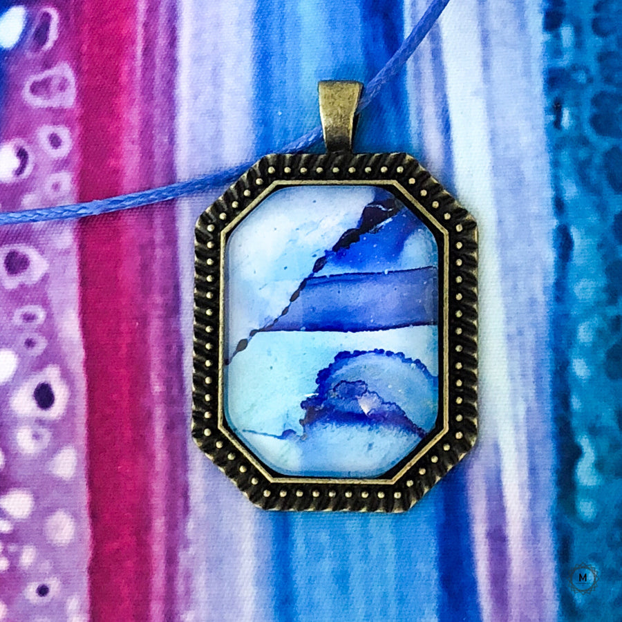 Waves of Calm Pendant 1