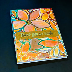 Thank You Fall Card