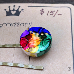 Handpainted Hairpin 5