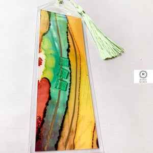 Mixed Media Bookmark 16