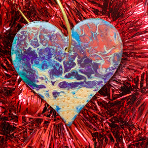 Heart Ornament 10