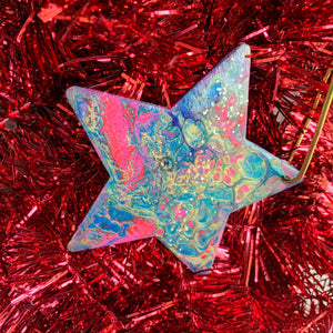 Star Wooden Ornament 1