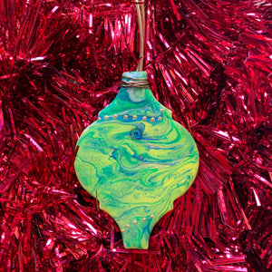 Ceramic Lantern Ornament 10