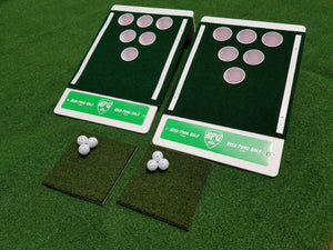 Beer Pong Golf: The Original Custom Tailgate Set - White / Green