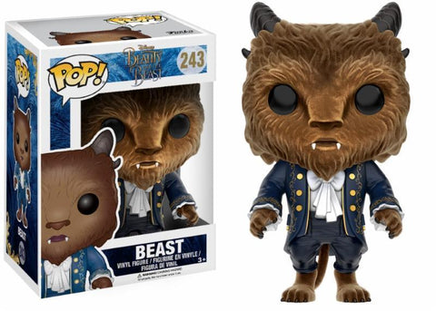 POP Funko! Beauty and the Beast Flocked Beast