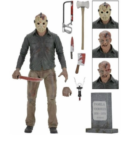 FRIDAY THE 13TH PART 4 ACTION FIGURES JASON 18 CM THE FINAL CHAPTER