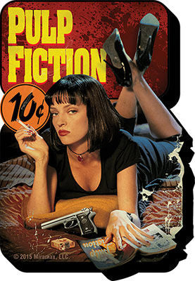 PULP FICTION MAGNET