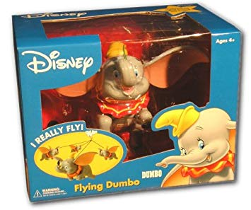 Fusion Toys Dumbo Disney Flying