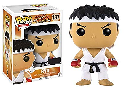 POP! FUNKO STREET FIGHTER RYU